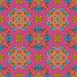 Fake knittted Kaleidoscope