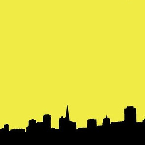 City Scape yellow