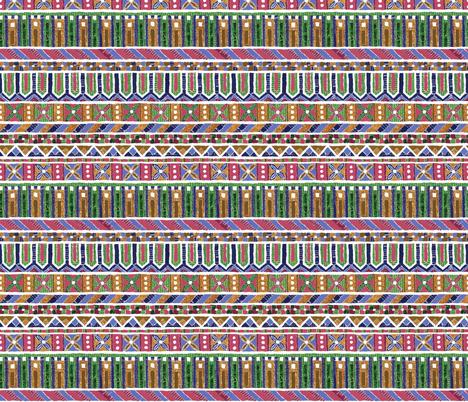 Paper mosaic N°1 fabric by anastassia_elias on Spoonflower - custom fabric