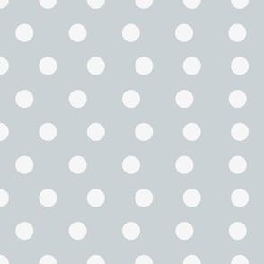 Small Silver Dot Pattern
