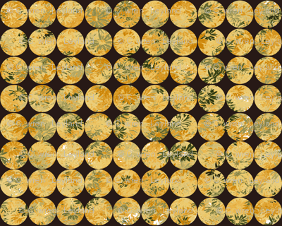 Button Covers- Butternut Daisies