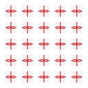 White Present Pattern