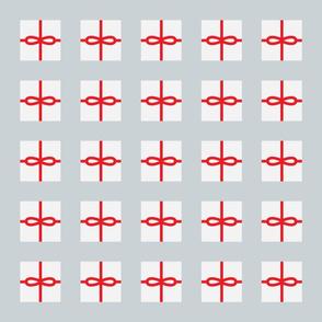 Silver Present Pattern