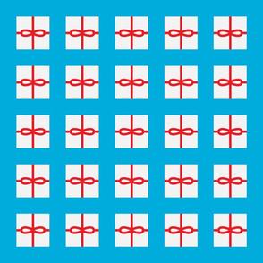Cyan Present Pattern