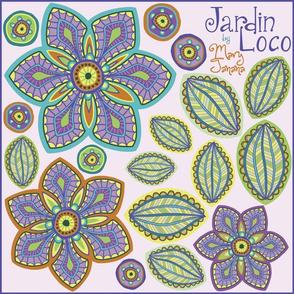 Jardin Loco-Lovely Lavender
