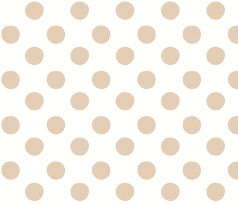 Midsummer Dots White fabric by hugandkiss on Spoonflower - custom fabric