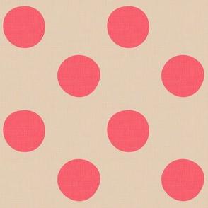 Midsummer Dots Coral
