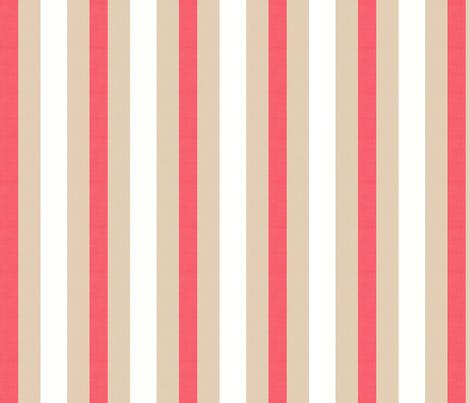 Midsummer Stripe fabric by hugandkiss on Spoonflower - custom fabric