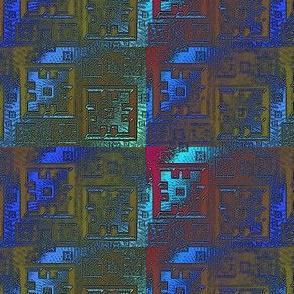streaked squares
