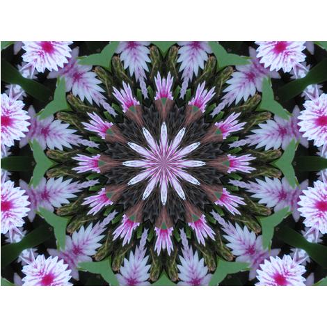 Kaleidescope 2929 fabric by wyspyr on Spoonflower - custom fabric