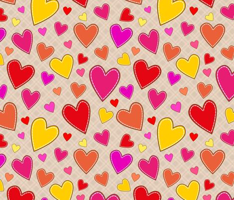 hearts_all fabric by stewsha on Spoonflower - custom fabric