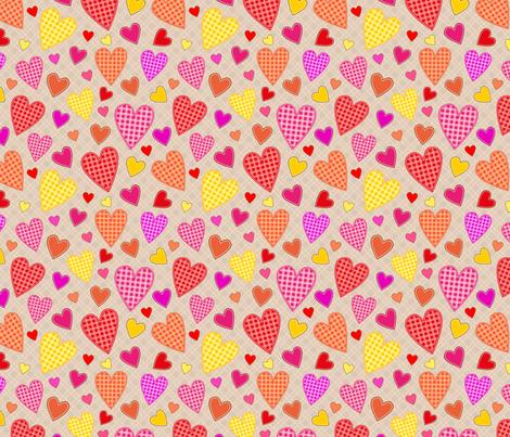 hearts_all_illustration fabric by stewsha on Spoonflower - custom fabric