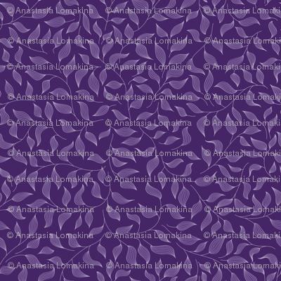 Dark violet leaves