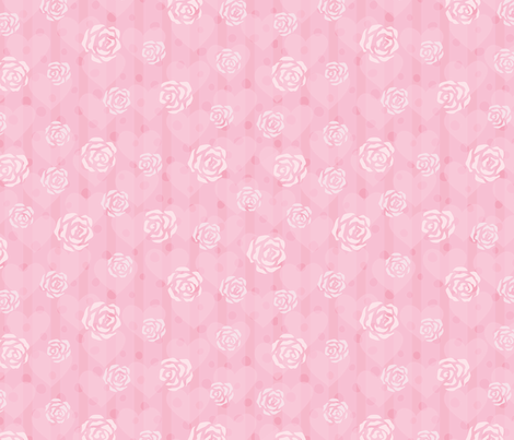 white_roses fabric by stewsha on Spoonflower - custom fabric