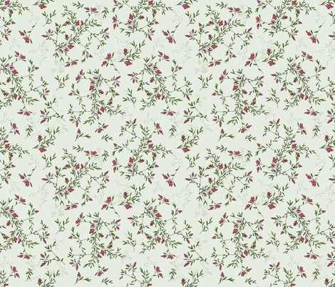 Floral Branches fabric by diane555 on Spoonflower - custom fabric