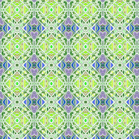 Love Sprouts in Early Spring fabric by edsel2084 on Spoonflower - custom fabric