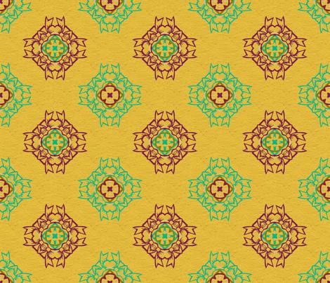 sunrise fabric by cutelilbutterfly on Spoonflower - custom fabric