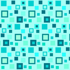 TEAL SQUARE DANCE