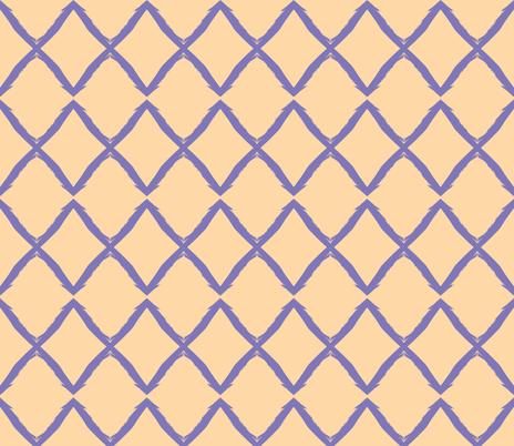 Grape X on Nude fabric by susaninparis on Spoonflower - custom fabric
