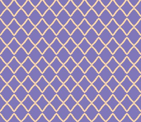 Nude X on Grape fabric by susaninparis on Spoonflower - custom fabric