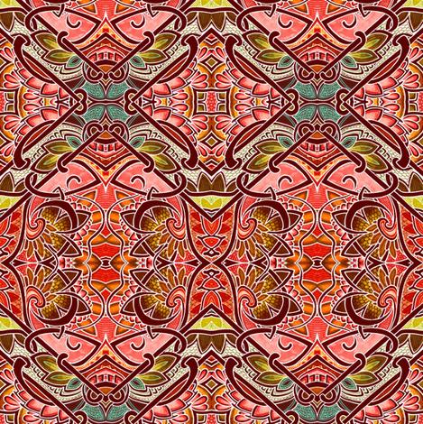 Wood Block Patchwork fabric by edsel2084 on Spoonflower - custom fabric