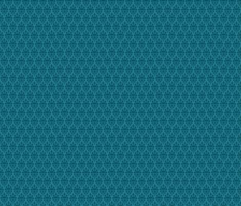 Pretty Blue Damask Design fabric by diane555 on Spoonflower - custom fabric