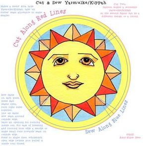 Yarmulke Kippah Solstice Sun