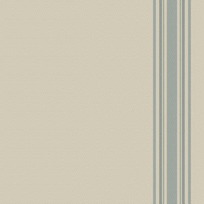 french feed sack stripe charcoal