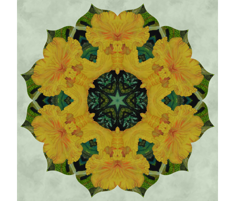 yellow_quilt_2 fabric by peegee on Spoonflower - custom fabric