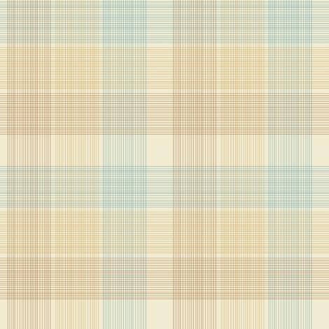 Swan plaid fabric by kirpa on Spoonflower - custom fabric