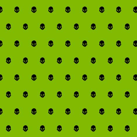 Skull Dot 2 fabric by jadegordon on Spoonflower - custom fabric
