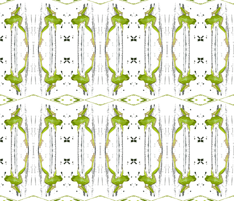 green_tree_frog fabric by tat1 on Spoonflower - custom fabric