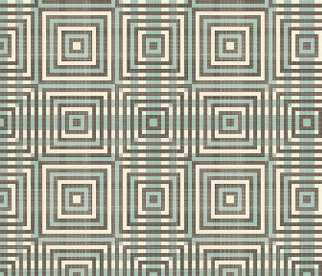 retro geometric pattern fabric by anastasiia-ku on Spoonflower - custom fabric