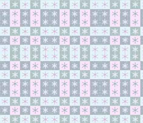 snowflake1 fabric by podaiboo on Spoonflower - custom fabric