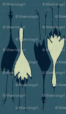 Cranes- dark, med, light blue