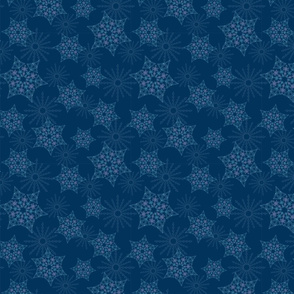 Crystal Gem Snowflakes