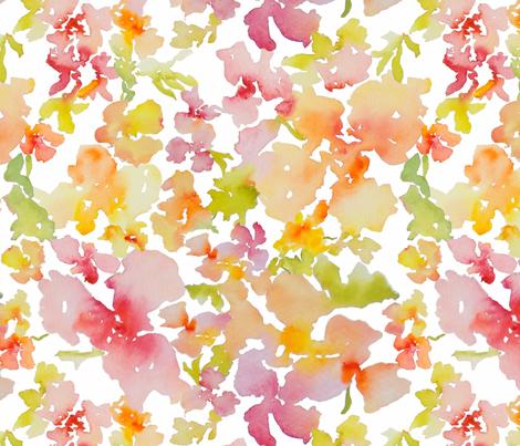 Petal Expressions No. 2 fabric by susan_magdangal on Spoonflower - custom fabric