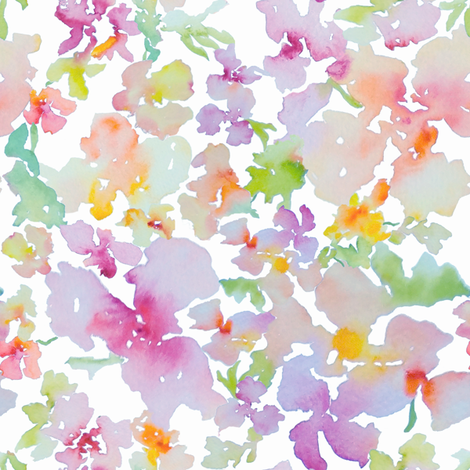 Petal Expressions No. 3 fabric by susan_magdangal on Spoonflower - custom fabric