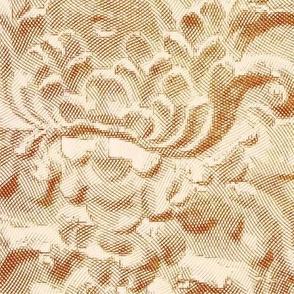 Wood carving, Queen Liliuokalani