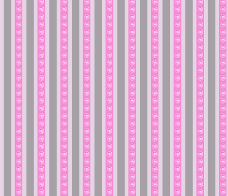Camellia_stripe fabric by koalalady on Spoonflower - custom fabric