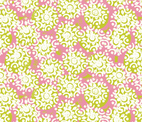 summer snowflakes fabric by ottomanbrim on Spoonflower - custom fabric