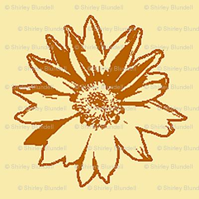 Sunflower2 Sketch-smaller version