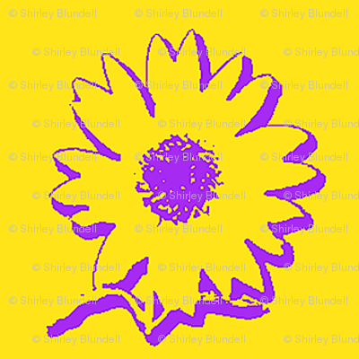 Sunflower Sketch-alternate