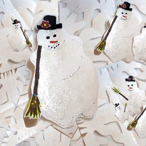 snowmenwithsnow