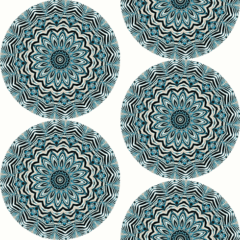 Zesty Zebra Zircles 8 fabric by dovetail_designs on Spoonflower - custom fabric