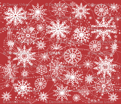 Little Flakey Christmas (RED)