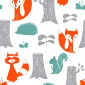 Rrrwoodland_creatures_scattered_on_white_corrected_shop_thumb