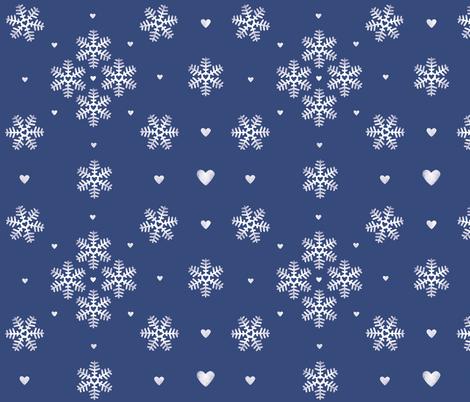 lovely winter fabric by renarde on Spoonflower - custom fabric
