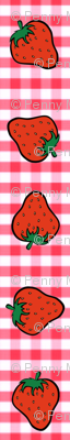 STRAWBERRIES N GINGHAM