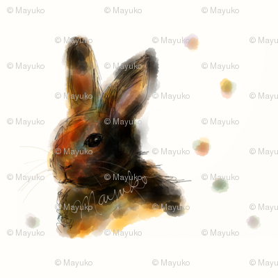 Bunny Watercolor